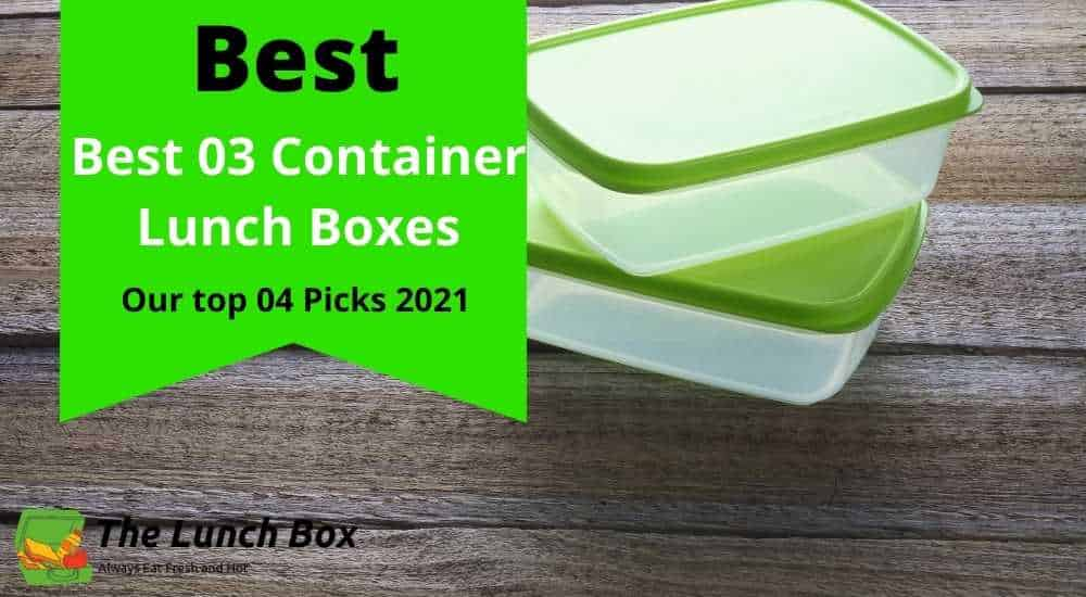 3 Container Lunch Boxes
