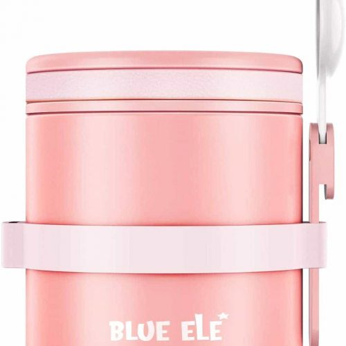 Blue Ele Leakproof, Vacuum Insulated Thermos